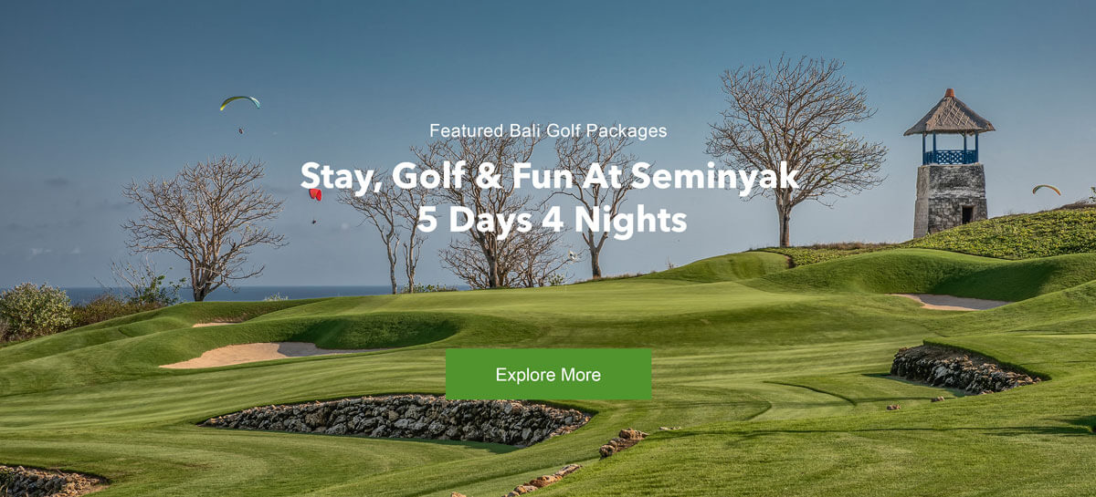 Stay, Golf and Fun at Seminyak