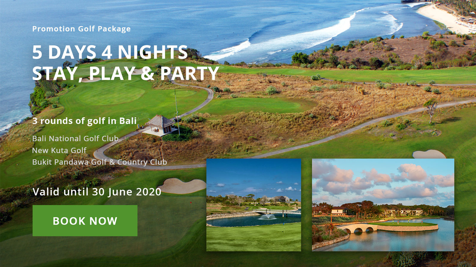 5D4N Stay Play & Party Package